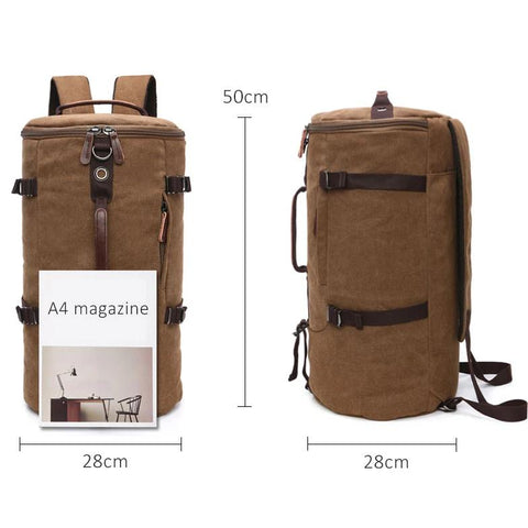Canvas Mountaineering travel Backpack