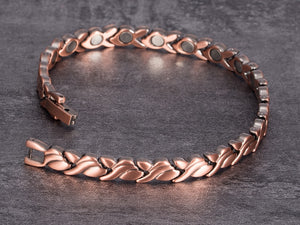 Copper Bracelet for Women opened