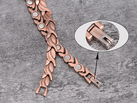 Copper Bracelet for Women clasp