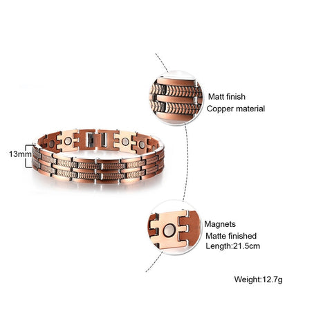 Image of Copper Bracelet details