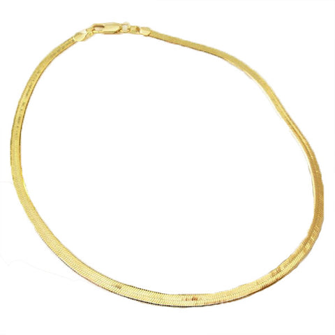 Gold Immaculate Luxury Anklet