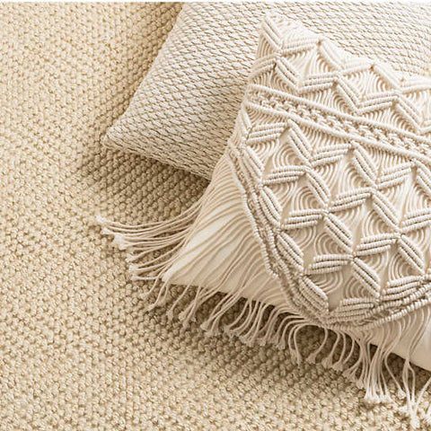 Image of Macrame Bohemian Pillow Cover