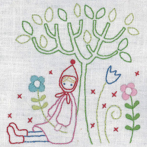 Sitting by the tree - United Stitches - 19