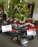 Electric Motor Bike 100kph A2 Black