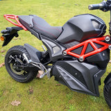 black electric motor bike