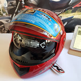 full face motor cycle helmet