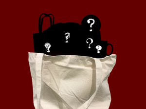 mystery grab bag of horror and true crime gifts