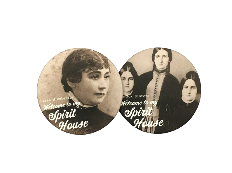 Welcome to My Spirit House Coaster Set