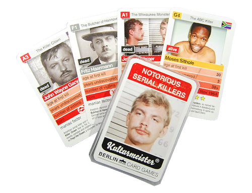 Notorious Serial Killers Card Game