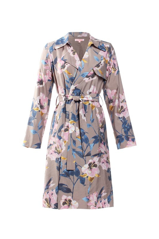 Floral Trench