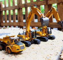 Load image into Gallery viewer, Construction Vehicles Model Toy Excavator Toy