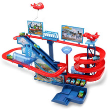 Load image into Gallery viewer, Electric Trains Set With Music And Lighting Including 5 Cars Trackmaster Climbing Stairs Kids Gifts