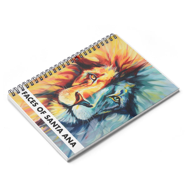 Lion of Judah Spiral Journal