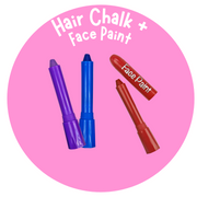Hair Chalk & Face Paint