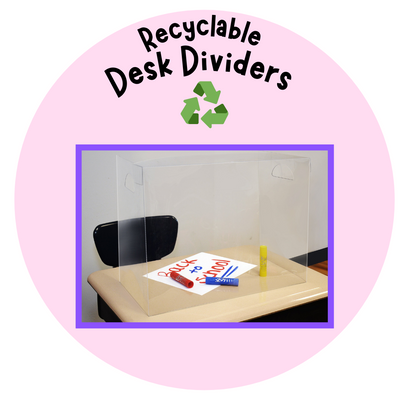 Personal Space ™ Desk Dividers & PPE