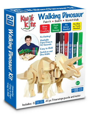 STEM 3D kit Walking Dinosaur