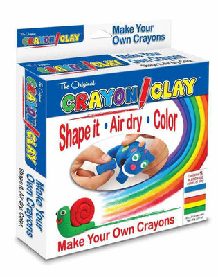Crayon Clay, Make Your Own Crayons