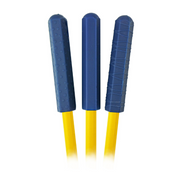 blue chewberz chewable silicone pencil toppers
