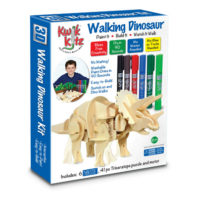dinosaur painting art stem kit for kids