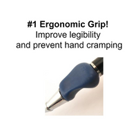Heavyweight Ball Pen with The Pencil Grip, 4 ounces, #1 ergonomic grip, reduce hand tremors