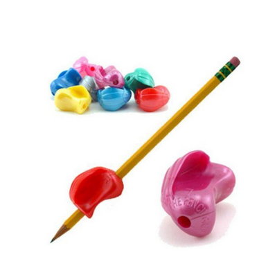 metallic crossover pencil grip improve handwriting