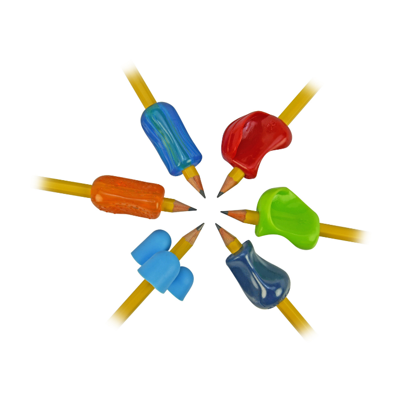 Premium Pencil Grip Assortment 6 Pack - Discover What Works For You! – The Pencil Grip, Inc.