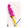 pink horse head chewable pencil topper
