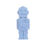 robot silicone chewable pencil topper