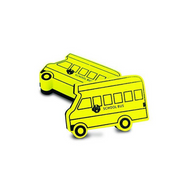 school bus magnetic whiteboard eraser