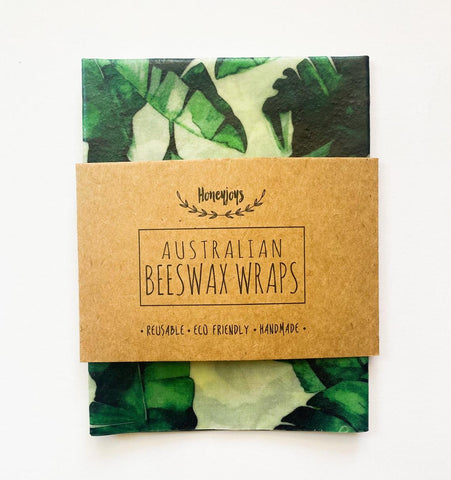 Beeswax Food Wrap - Banana Leaves