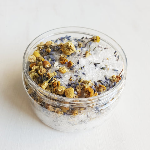 Calming Bath Salts Jar
