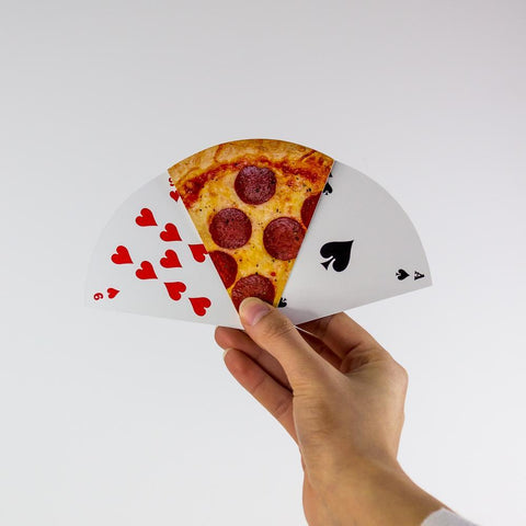 PIZZA SLICE PLAYING CARDS | GAMAGO