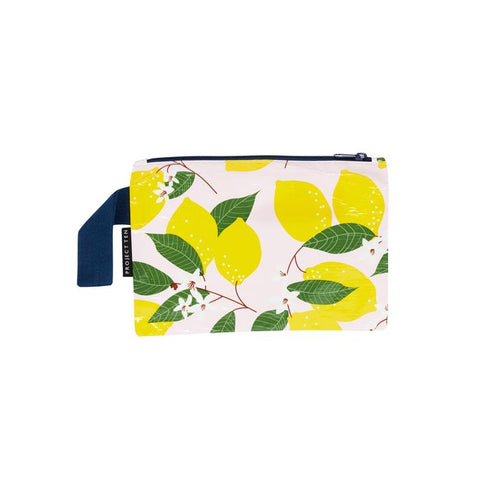 Project Ten Mini Zip Pouch Lemon