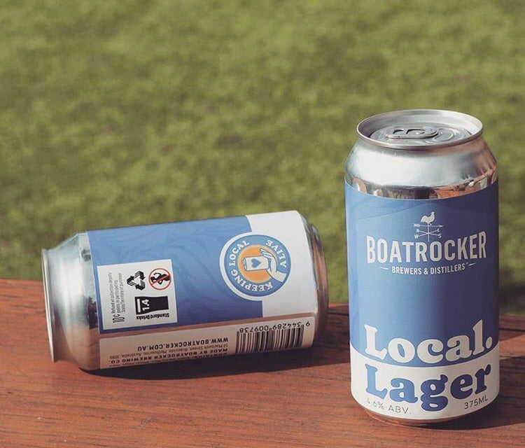 BOATROCKER Local Lager