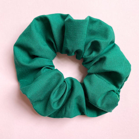 Hair Scrunchie - Emerald