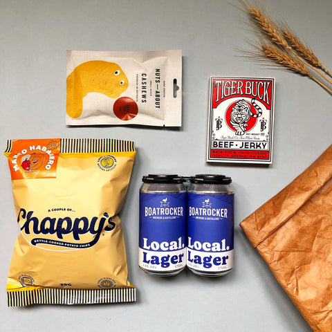 Beer + Salt Snack Bag