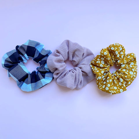 3 pack of Scrunchies