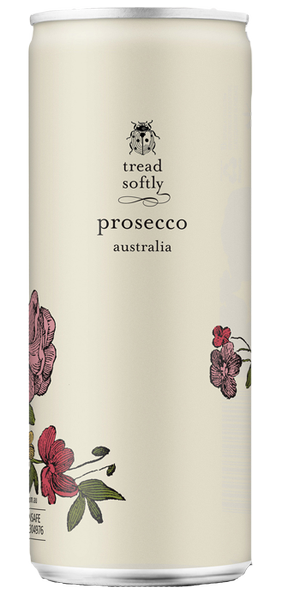 Tread Softly PROSECCO can