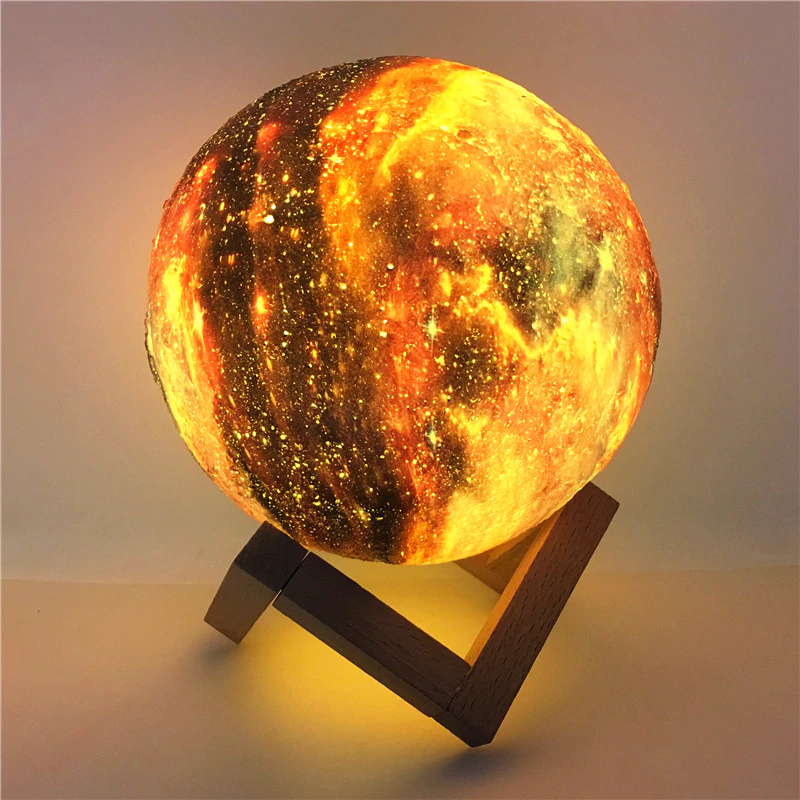 Fire Moon Lamp