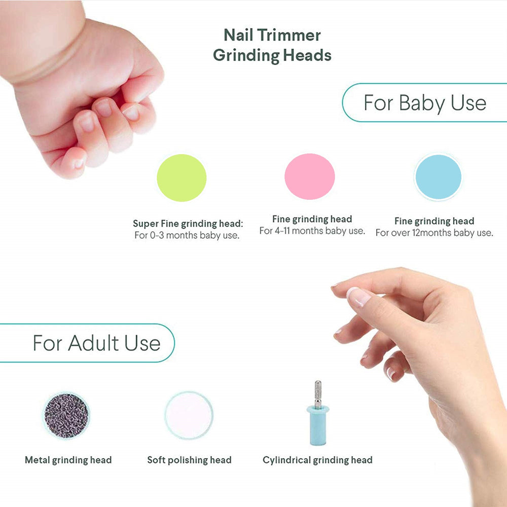 BabySafe™ Electric Baby Nail Trimmer