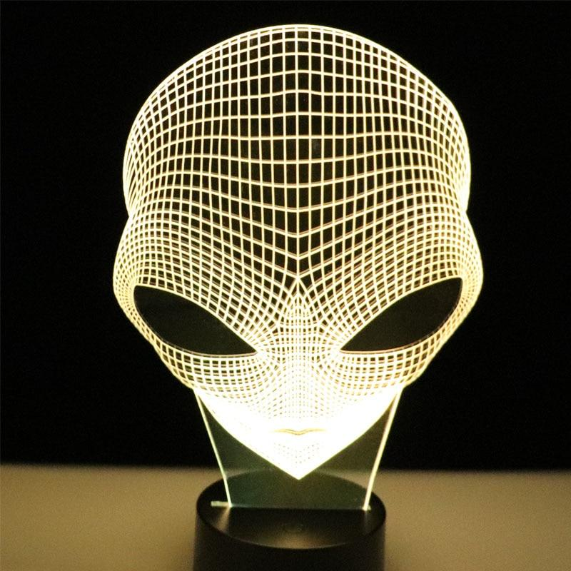 Alien Illusion Lamp