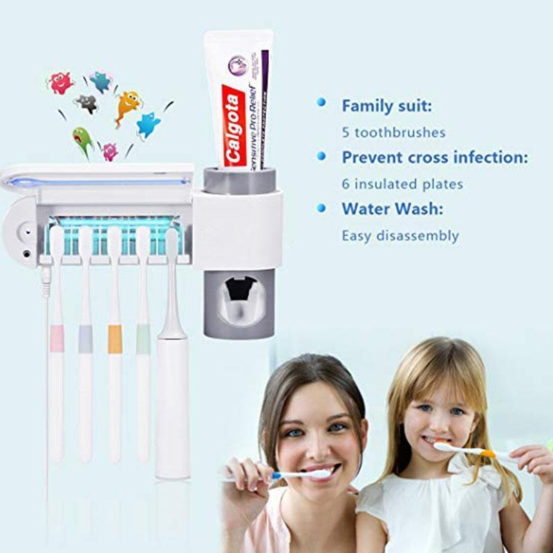 Wall Mounted Toothbrush Sterilizer - eCasaMart