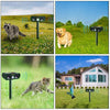 Motion Activated Universal Animal Repellent for Garden with Solar Power Source - eCasaMart