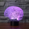 3D Brain Illusion Lamp