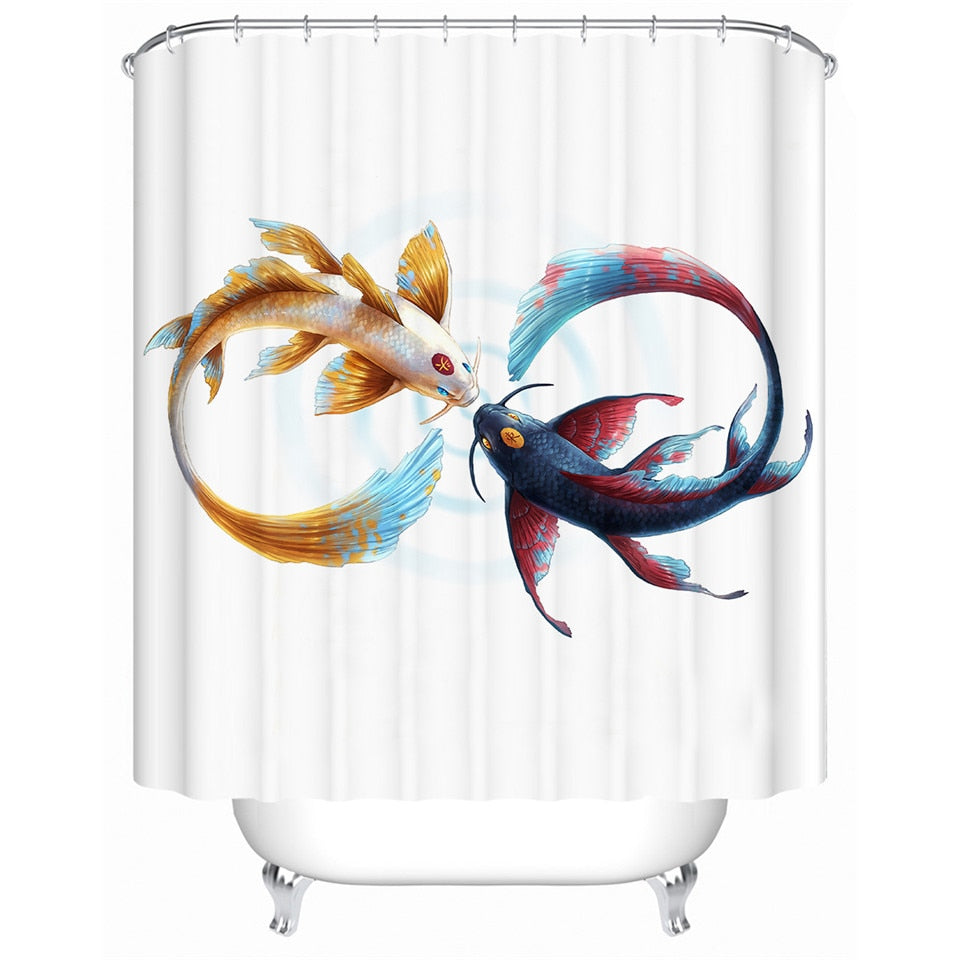Eternal Bond by JoJoesArt Shower Curtains - eCasaMart