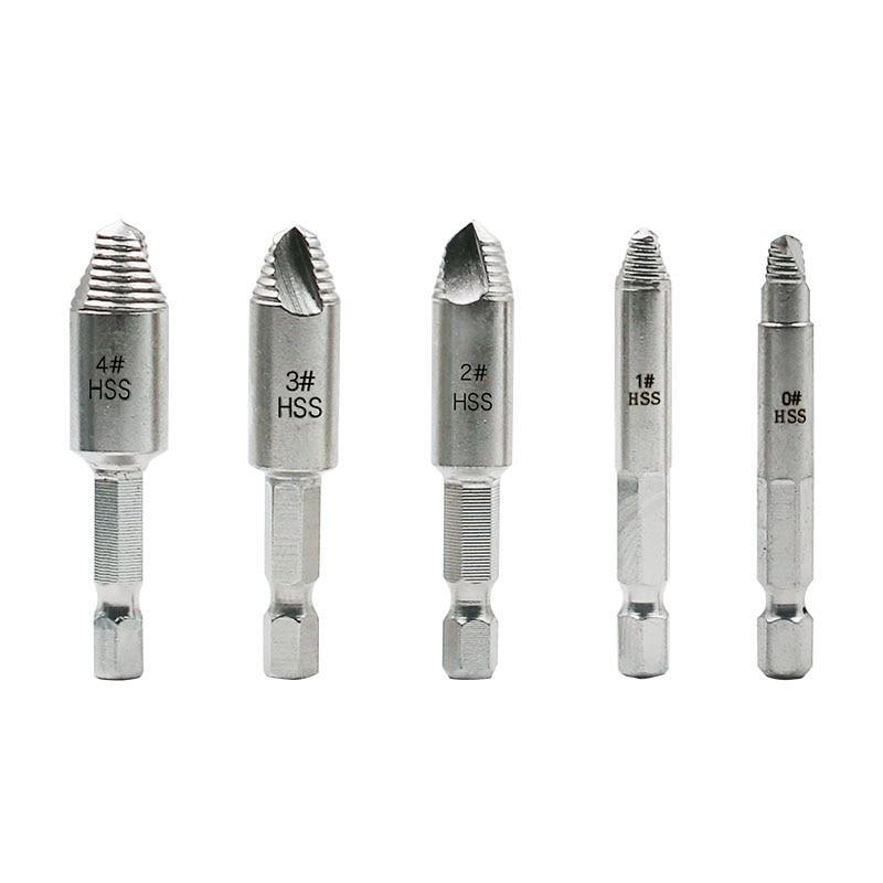 Fix-It Damaged Screw Extractor (5pcs set) - eCasaMart