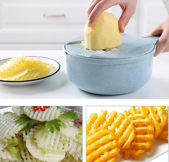 9-in-1 Multi-Function Easy Food Chopper - eCasaMart