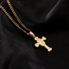 Iced Out Cross Pendant Necklace - eCasaMart