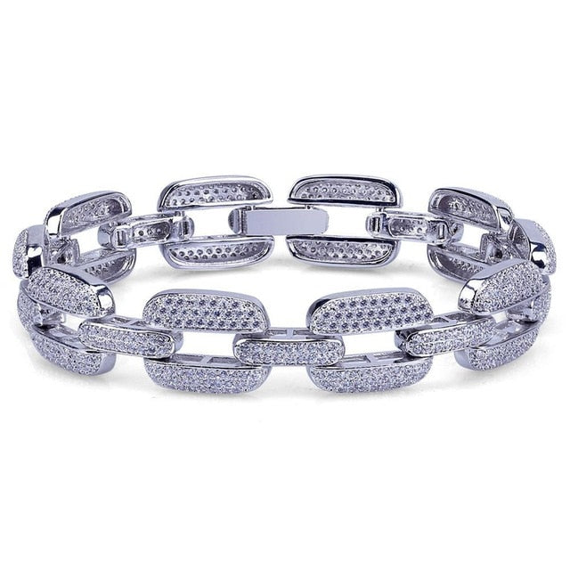 Hip Hop Iced Out Bracelet - eCasaMart