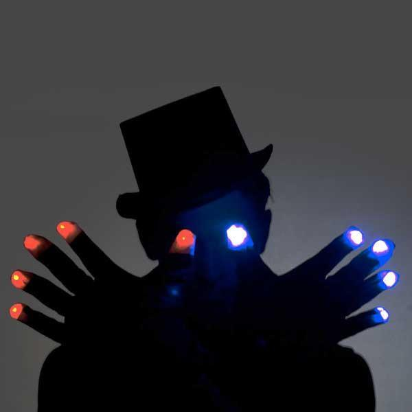 Rave Light LED Glow Gloves (1 Pair)